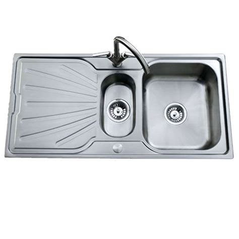 deep stainless steel kitchen sink clearwater deep blue 1 5 bowl stainless steel sink