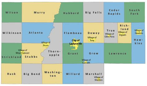 Rusk County Records Communities Rusk County