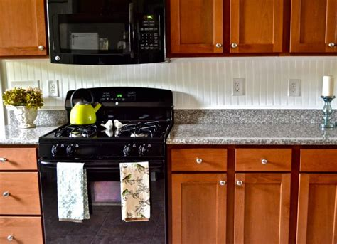 simple kitchen backsplash ideas beadboard backsplash 12 cheap backsplash ideas bob vila