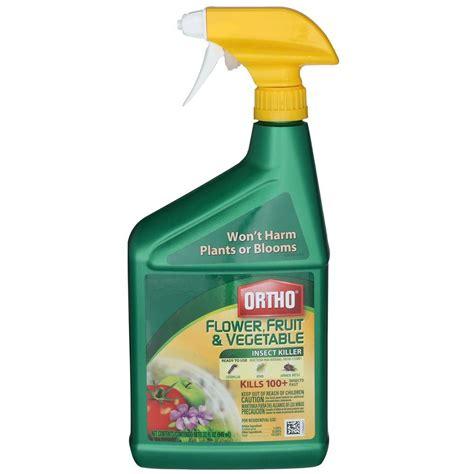 all bug spray for vegetable garden ortho flower fruit and vegetable 32 oz insect killer