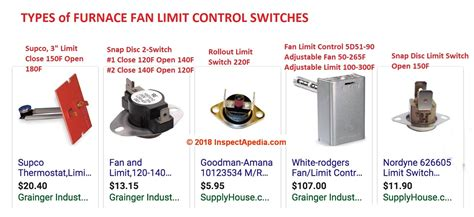 heater fan limit switch furnace fan limit switch how does a fan limit switch work