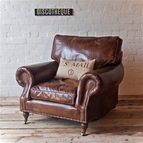 vintage leather armchair profiles uniche interior furnishings homegirl london