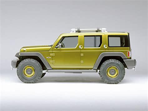 jeep sedan concept 2004 jeep rescue concept pictures history value