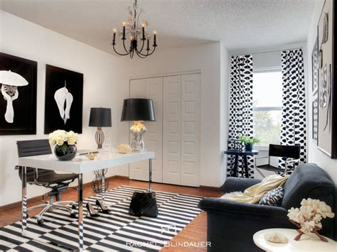 black and white home office decorating ideas black white office eclectic home office san