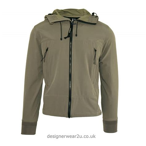 Cp Jaket Grey c p company cp company grey soft shell jacket with goggles jackets from designerwear2u uk