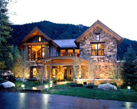 homes in the mountains contemporary mountain house ideas