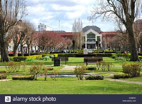 Garden City Town Welwyn Garden City Town Centre Stock Photo Royalty Free