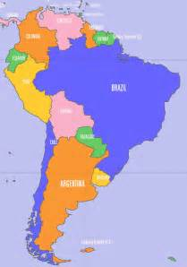map of southern south america argentina compact travels
