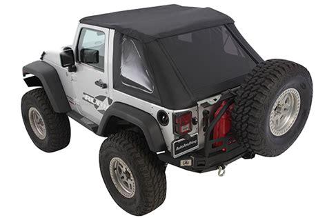 Smittybilt Jeep Tops Smittybilt Bowless Combo Soft Top For Wrangler 9073235 Ebay