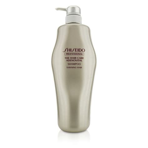 shiseido the hair care adenovital shoo for thinning