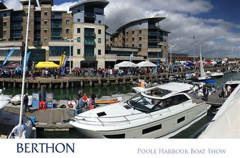 poole harbour boat show the berthon bus is firmly on the road for summer boat shows