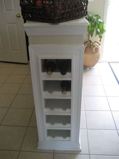 white wine rack cabinet how to combine ikea items to build your own wine rack