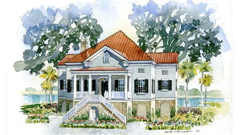 southern living house plans 2013 house plan of the month lowcountry cottage southern living