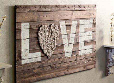 home decor arts and crafts wall sconces master bathroom craft of the day lovely rustic wall art huffpost