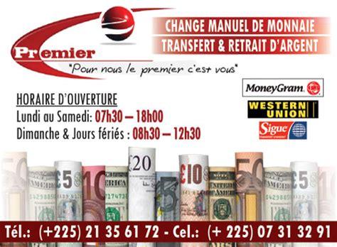bureau de change d argent premier bureaux de change