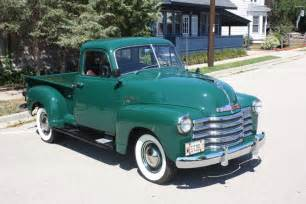 car of the week 1951 chevrolet 3100