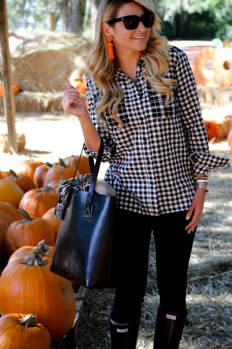 outfit pumpkin patch gingham shop dandy  florida