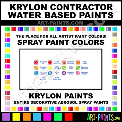 krylon contractor water based spray paint aerosol colors krylon contractor water based paint