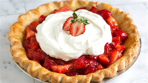 images of pie simple and fresh strawberry pie recipe how to