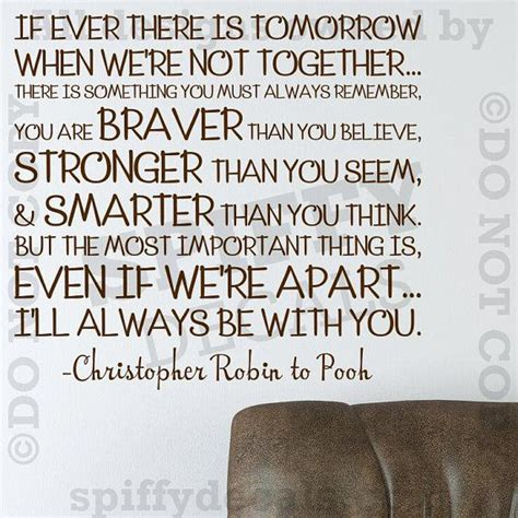 printable christopher robin quotes winnie the pooh christopher robin quote wall decal