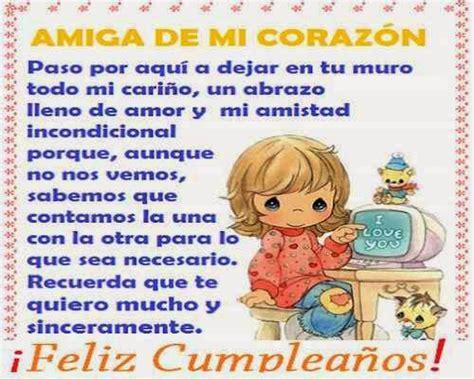 imagenes de cumpleaños que ya paso mensajes de cumplea 241 os para una amiga muy especial