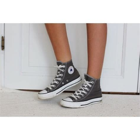 Conversehigh Grey Ct2 grey converse all hightops shoes sneakers shoes and grey