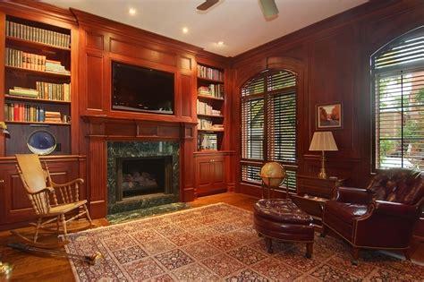 fontana house wins fine homebuilding readers choice mahogany library fine homebuilding