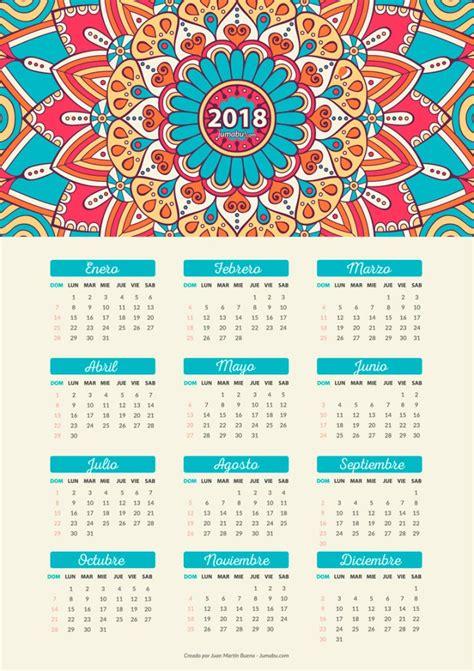 Calendario Gratis Calendario 2018 Para Imprimir Gratis Jumabu