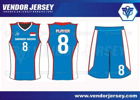 Buat Baju Basket Pembuatan Jersey Kostum Basket Pesanan Dari Medan Vendor