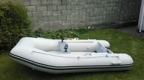 inflatable boats with air deck inflatable boat dinghy waveline 270 air deck with keel for