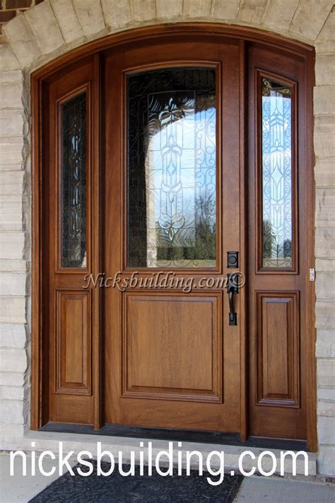 custom built wood exterior doors entryway arch top arch top exterior doors radius arched doors top