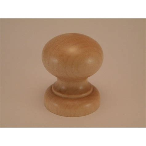 knob style k 30mm maple lacquered wooden knob