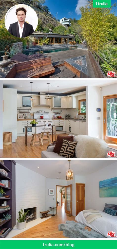 johnny galecki house 1000 images about celebrity homes listings on pinterest hollywood hills homes