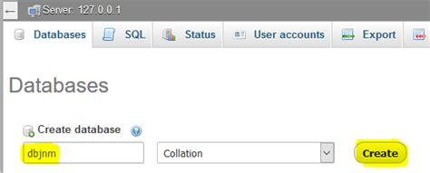 cara membuat database mysql di terminal linux contoh tabel database xp contoh kr