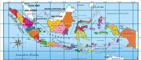 peta kondisi geografis negara indonesia mikirbae