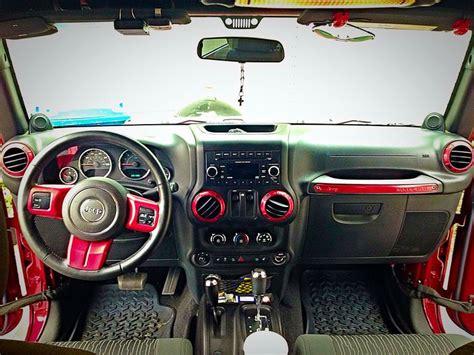 jeep red interior 2017 jeep wrangler red interior trim kit psoriasisguru com