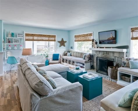 Living Room Beach House Living Room Ideas With Fish | 20 beautiful beach house living room ideas