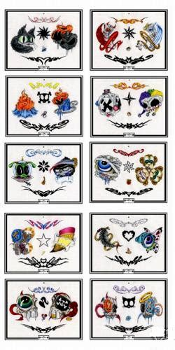 50 full color modern tattoo flash sheets tattoo design sheets