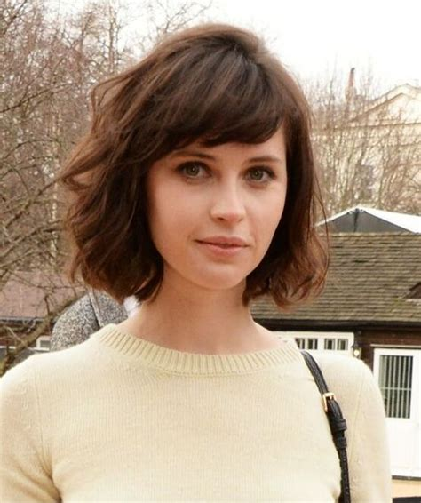 are bangs okay with medium short hair on 50 year old 14 flattering short hairstyles for your office look