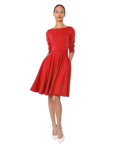 isaac mizrahi new york sleeved dress in lyst