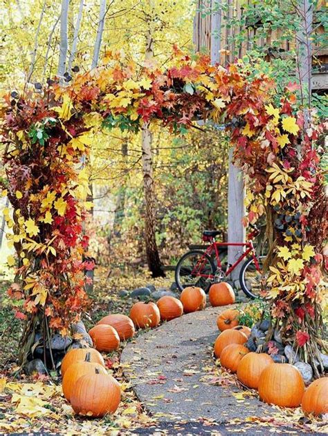 fall pumpkin decorations outside 5 whimsical spooky wedding ideas for autumn