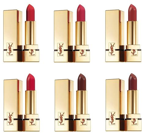 Ysl Pur Couture The Mats yves laurent beaut 233 pur couture the mats