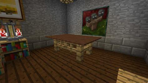 table dinning room minecraft building