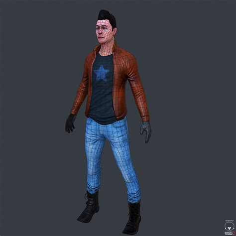 free download cgtrader models character low poly modeling for free 3d model obj cgtrader