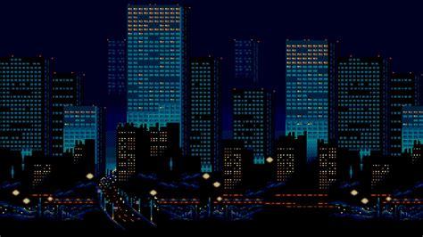 Kaos 8bit Megaman 2 Oceanseven hd 8 bit backgrounds pixelstalk net