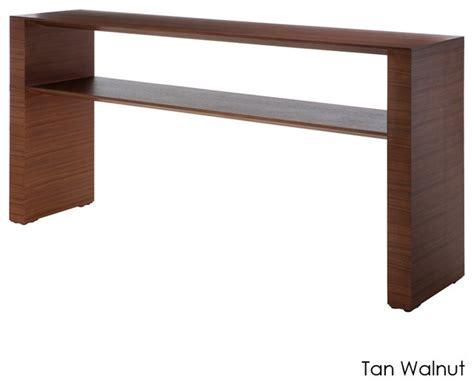 Modern Console Tables Inga Console Table Walnut Small Modern Side Tables And End Tables By Inmod