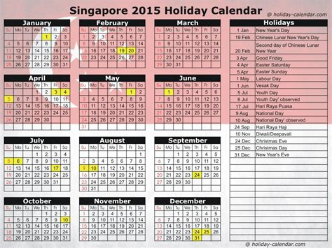 singapore 2015 2016 holiday calendar