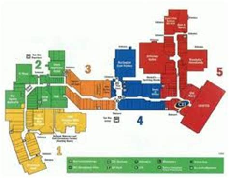 potomac mills mall map potomac mills map my
