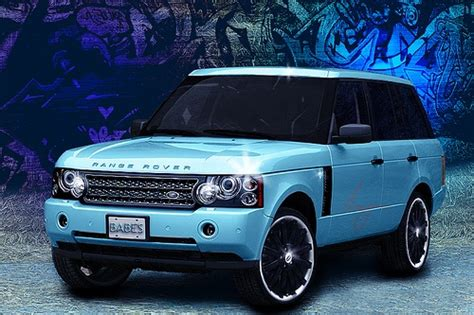 tiffany blue range rover suv car super image