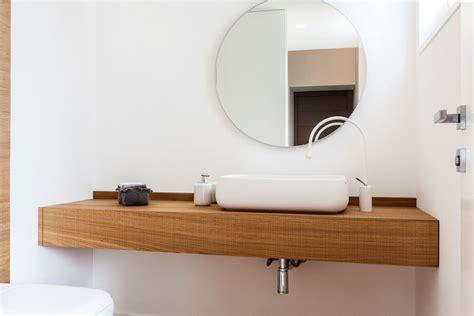 mensola appoggio lavabo mensola porta lavabo per arredo bagno in legno realizzata